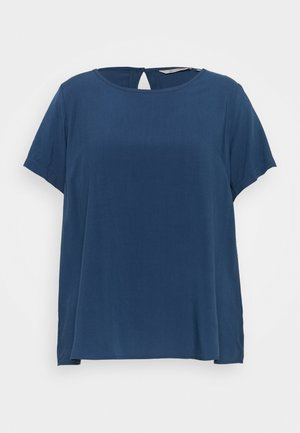 CARVIS TOP SOLID - Bluser - dark denim