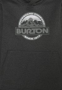 Burton - OAK - Mikina skapucí - true black heather - 2