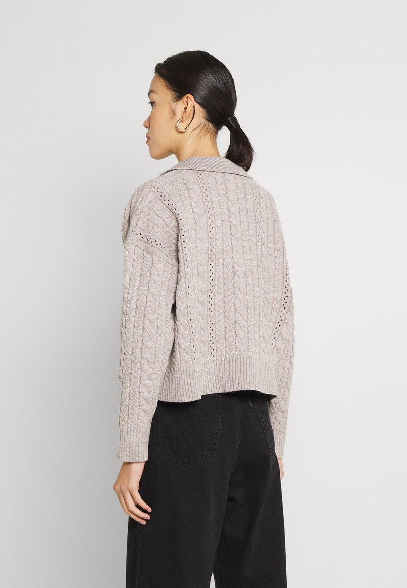 Fashion Union - LORI - Trui - grey