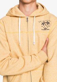 Quiksilver - Zip-up hoodie - honey heather - 3