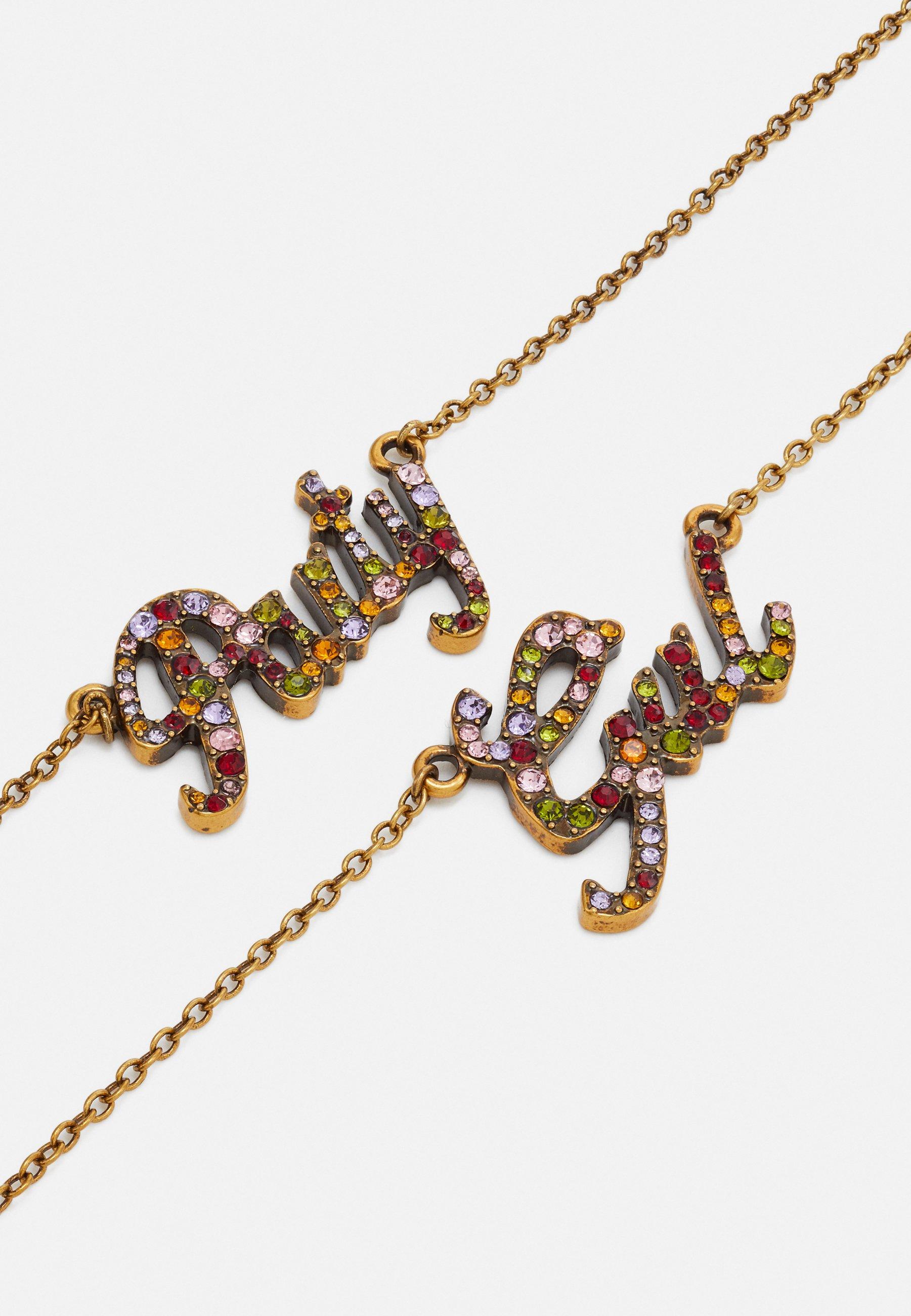 Twinset Halskette - Gold-coloured/multicoloured/goldfarben