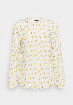 FRILL BLOUSE - Bluser - yellow