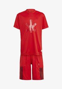 adidas Performance - ADIDAS X LEGO® NINJAGO® KAI SET - Shorts - red - 0