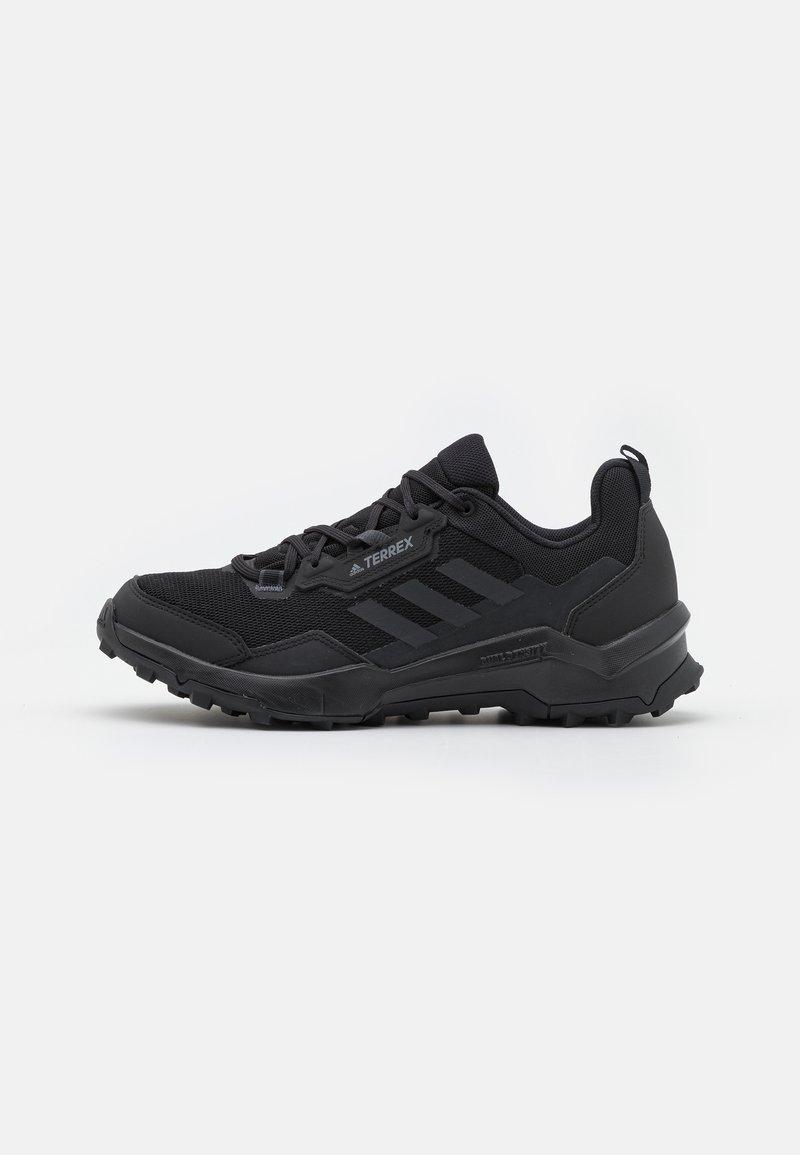 adidas Performance - TERREX AX4 HIKING TECHNICAL PRIMEGREEN SHOES MID - Obuwie hikingowe - core black/carbon/grey four