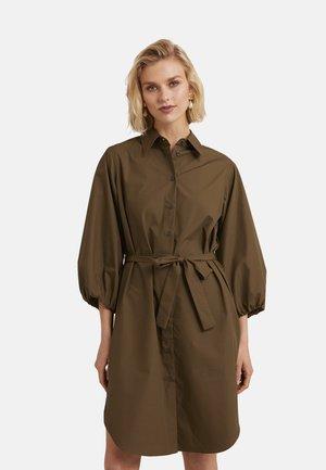 Shirt dress - verde