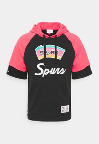 NBA SAN ANTONIO SPURS HOODY - Club wear - black