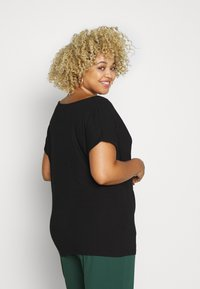 Anna Field Curvy - Print T-shirt - black - 2
