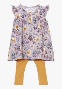 Name it - NBFJAJERS DRESS SET - Leggings - violet ice - 0
