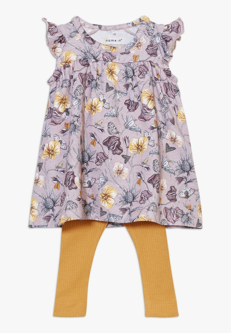 Name it - NBFJAJERS DRESS SET - Leggings - violet ice