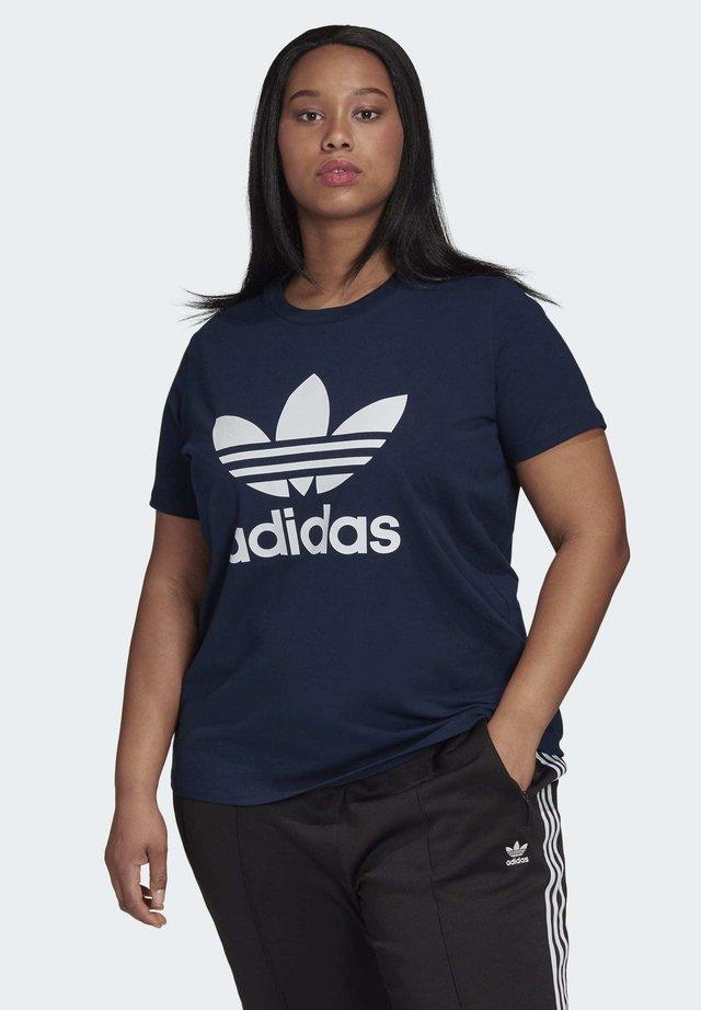 TREFOIL T-SHIRT - T-shirt z nadrukiem - blue