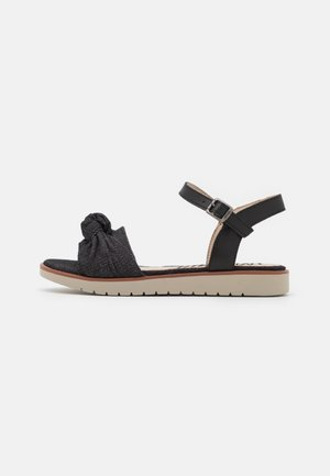 MARIE - Sandaalit nilkkaremmillä - black