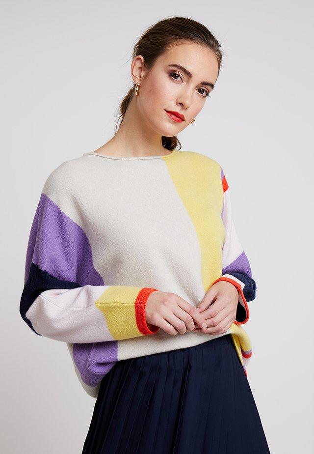 LONGSLEEVE MODERN BOXY  - Trui - multi coloured