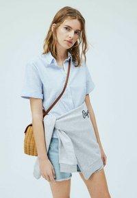 Pepe Jeans - Button-down blouse - light blue - 3