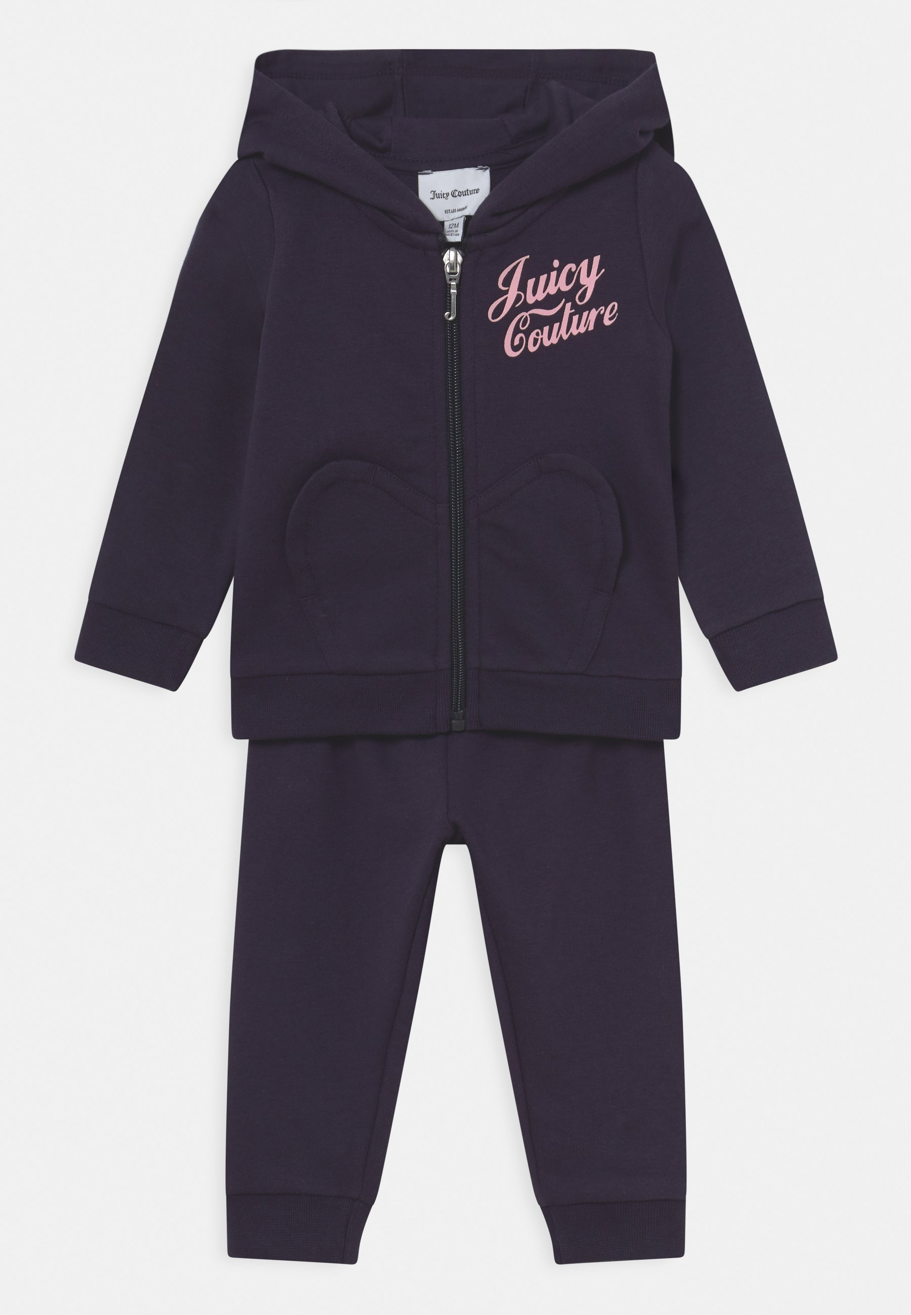 Kinder BABY HEART POCKET SET - Trainingsanzug
