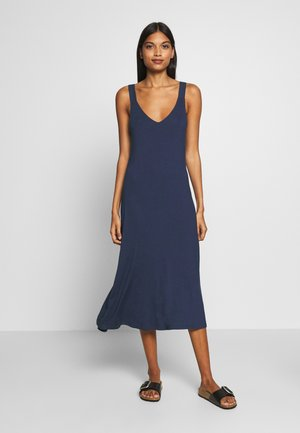 Jersey dress - evening blue