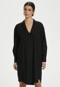 Gestuz - JILAN DRESS - Shirt dress - black - 0