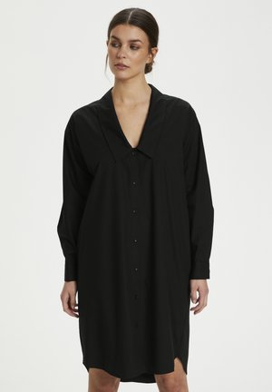 JILAN DRESS - Shirt dress - black