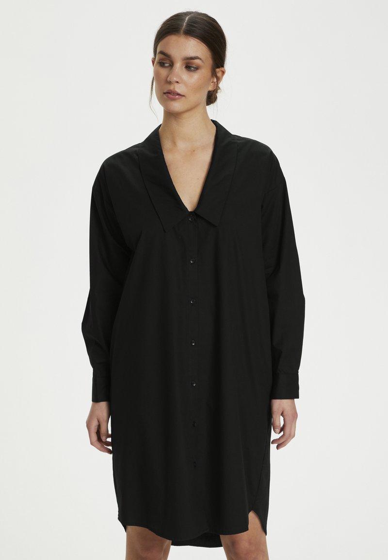 Gestuz - JILAN DRESS - Shirt dress - black