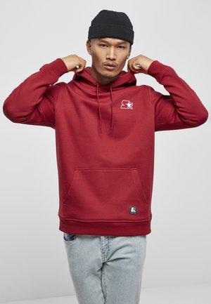 Hoodie - brick red