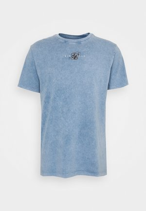 STANDARD FIT TEE - Print T-shirt - washed blue