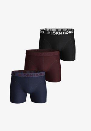 3 -PACK - Pants - peacoat