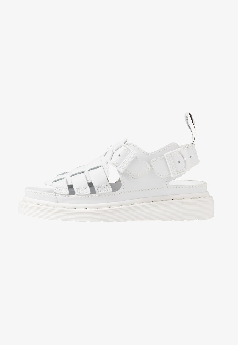 Dr. Martens - 8092 ARC SANDAL - Sandaalit nilkkaremmillä - white softy