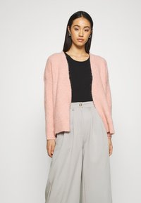 ONLY - ONLPIMMIE OPEN CARDIGAN - Cardigan - misty rose - 1