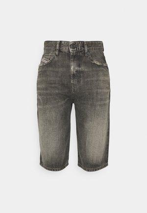 Short en jean - washed black