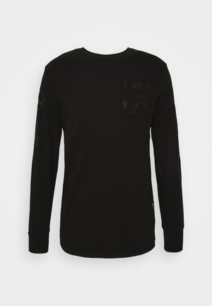LOGO GRAPHIC  - Langærmede T-shirts - black