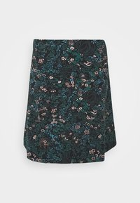 King Louie - BORDER SKIRT MONTEREY - Áčková sukně - black - 3