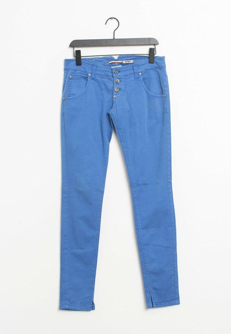 PLEASE - Slim fit jeans - blue