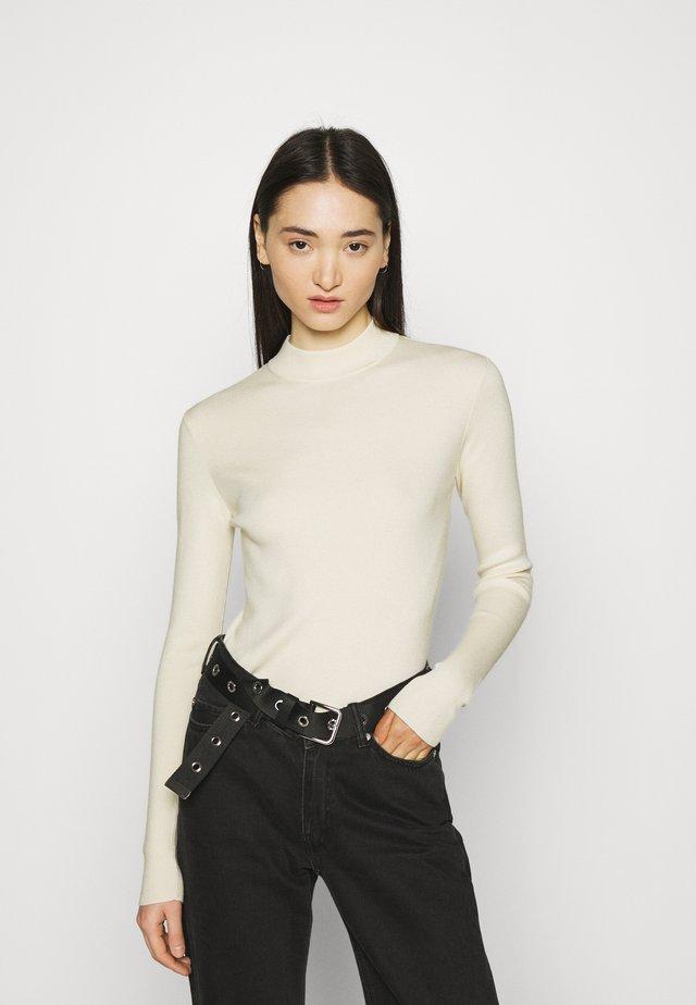 KIMBER - Sweter - solid beige