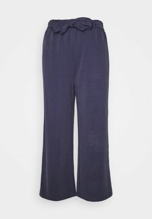 Pantalones - dark steel blue