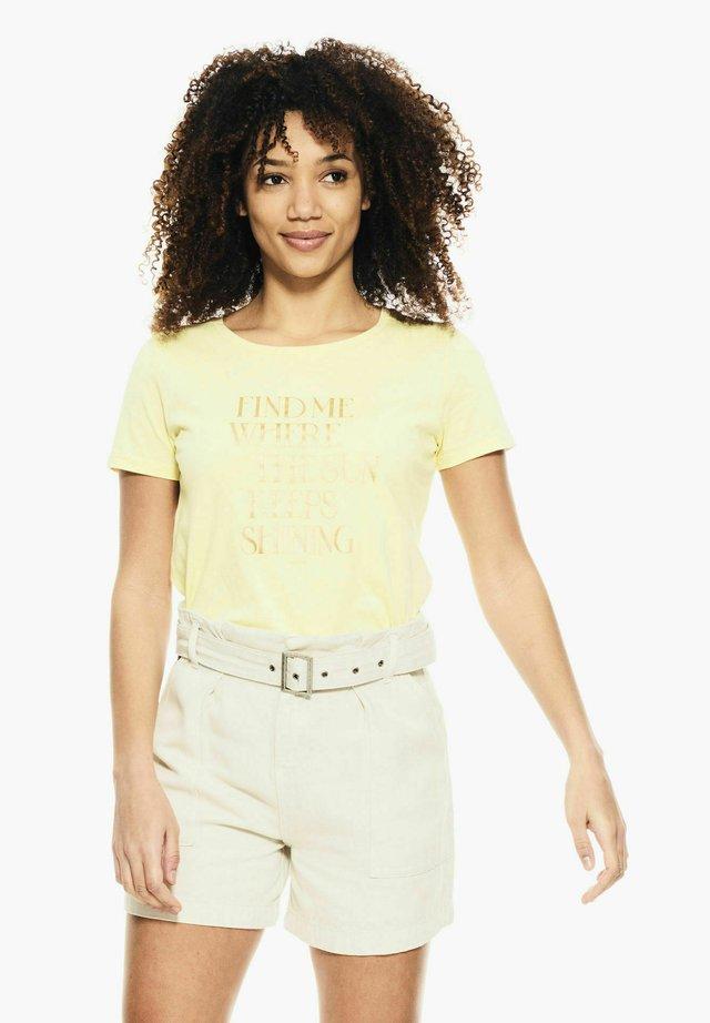 T-shirt imprimé - buttercup