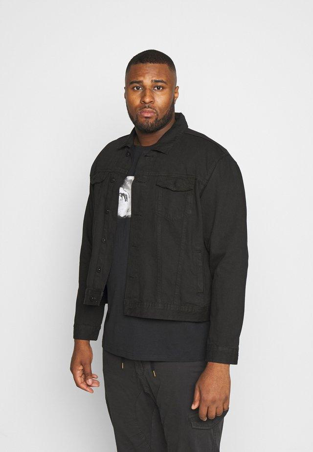 USARNE JACKET - Denim jacket - black