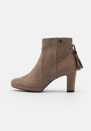 Ankle boots - pepper