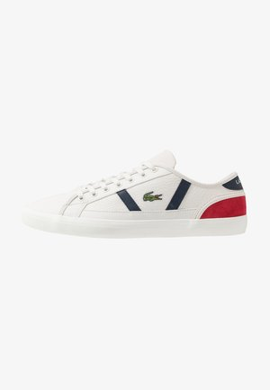 SIDELINE - Trainers - offwhite/navy/red