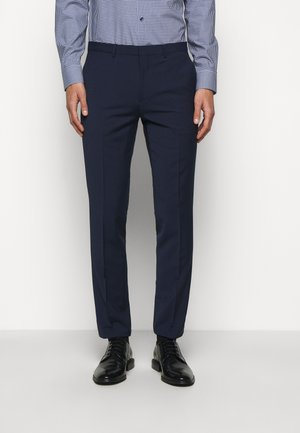 HESTEN - Suit trousers - open blue