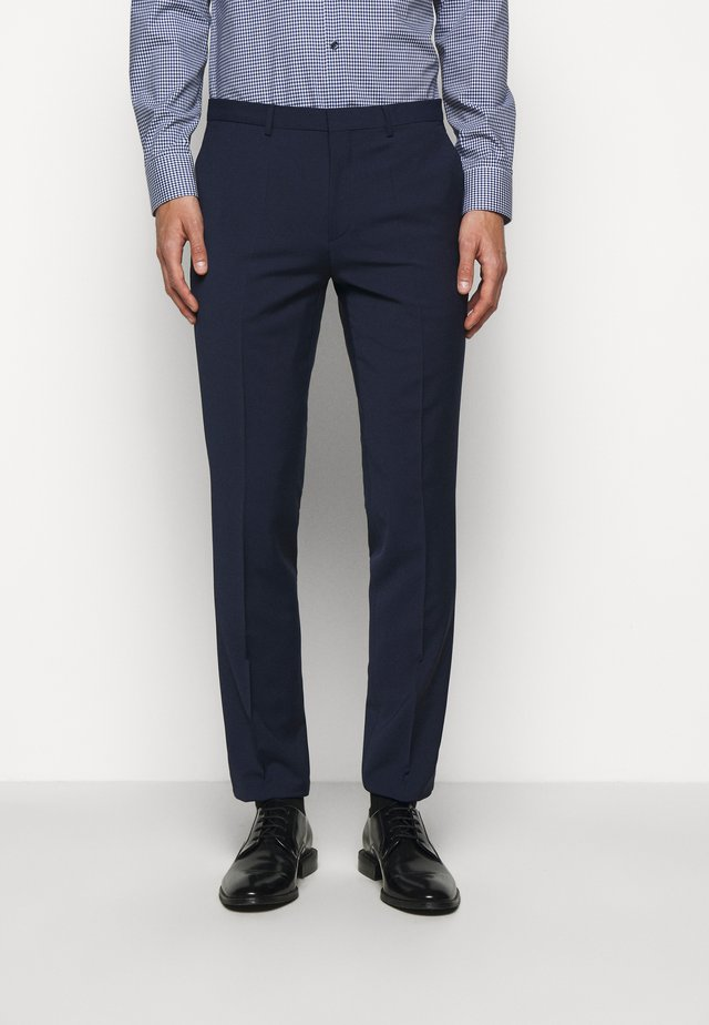 HESTEN - Pantaloni eleganti - open blue