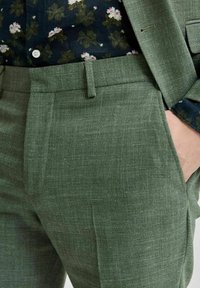 Selected Homme - Trousers - dark green - 3