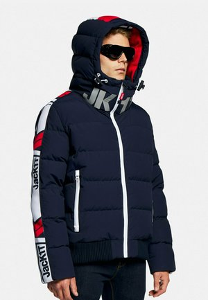 CHEVRON   - Down jacket - navy