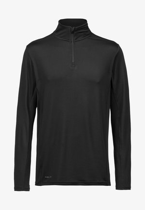 ANGELO MIT QUICK DRY-TECHNOLOGIE - Long sleeved top -  black