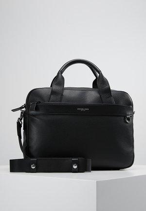 GREYSON SLIM BRIEFCASE - Briefcase - black