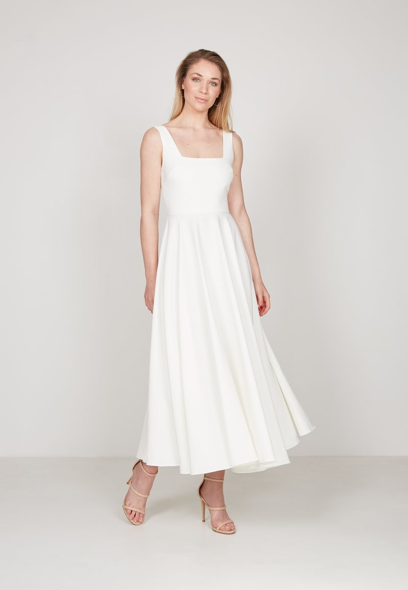 True Violet - Day dress - off white