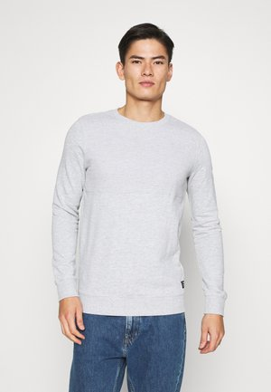 STRUCTURE CREWNECK - Sudadera - light stone grey melange