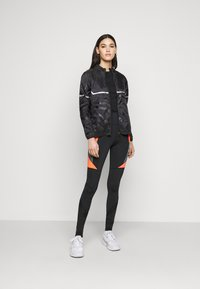 ONLY PLAY Tall - ONPONAY TRAINING JACKET  - Summer jacket - black - 1