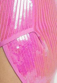 David Koma - Shift dress - white/pink - 5