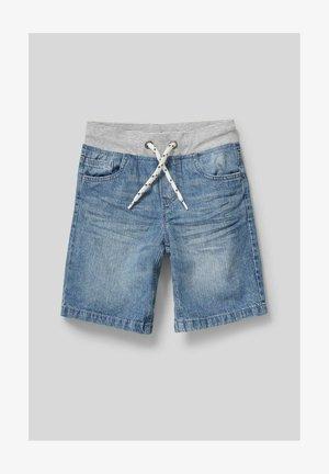 Denim shorts - denim blue