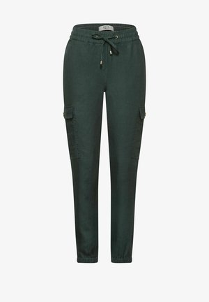 LOOSE FIT - Cargo trousers - grün