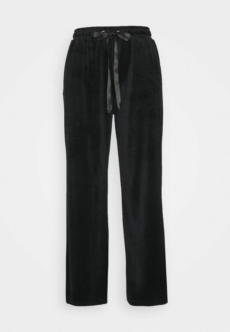 Vero Moda Petite - VMATHENA PANT  - Tracksuit bottoms - black
